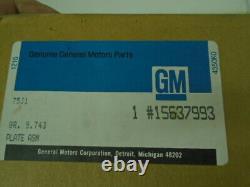 NOS GM 1984-1987-88 Chevy GMC C10 K10 Pickup Truck K5 Blazer Dash Cluster Bezel