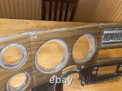 OEM 1973-1980 Chevy GMC Truck Suburban Blazer Cluster Dash Bezel Woodgrain