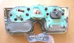 RESTORED GAUGE CLUSTER 67 68 69 70 71 72 CHEVY GMC TRUCK 5000 rpm TACH DASH
