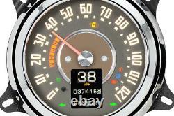 Retrotech 47-53 Chevy GMC Truck Dakota Digital Custom LED RTX Analog Gauge Kit