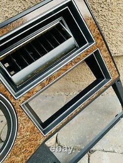Square Body Woodgrain Dash Bezel 1989 1991 Chevy GMC Truck Blazer C/K Jimmy K5