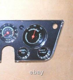 Tachometer Vacuum Gauge Cluster 67 68 69 70 71 72 Chevy Gmc Truck Restored Dash
