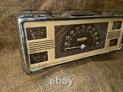 Vintage Original 1940 Ford SPEEDOMETER GAUGE CLUSTER car pickup truck 41 47