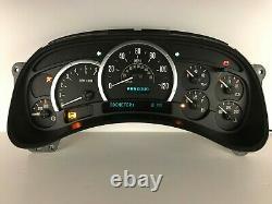 03 04 05 Escalade Speedometer Instrument Gauge Cluster Reconstruit