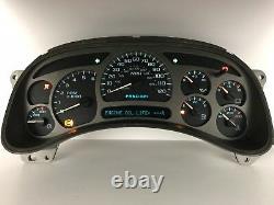 03 04 05 Sierra Silverado Denali Yukon Speedometer Gauge Cluster Reconstruit