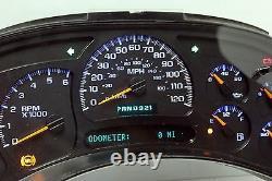 03-04 2003-2004 Reconstruit Et Programmé Truck Dash Cluster Avec Mise À Niveau Blue Leds