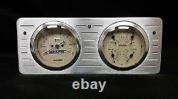 1940 1941 1942 1943 1944 1945 1946 1947 Ford Truck Quad Gauge Dash Cluster Tan