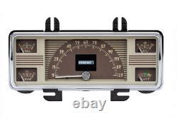 1940-1947 Pick-up Ford Truck Dakota Digital Rtx Retrotech Led Dash Kit De Jauge Sur Mesure