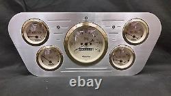 1953 1954 1955 Ford Truck 5 Gauge Billet Dash Cluster Set Insert Or