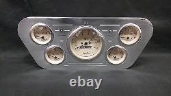 1953 1954 1955 Ford Truck 5 Gauge Billet Dash Cluster Set Insert Tan