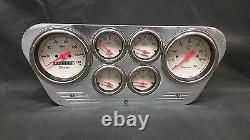 1953 1954 1955 Ford Truck 6 Gaged Dash Panel Cluster Set Billet Insert Shark