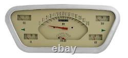 1953- 1955 Direct Fit Ford F-100 F-series Truck Gauge Panel / Dash Cluster Ft53t