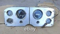 1955 1959 Gmc Truck Gauge Cluster / Speedometer Original Gm Ac