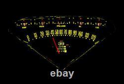 1955 -59 Chevy Gmc Truck Dakota Digital Retrotech Rtx Led Dash Gauge Kit