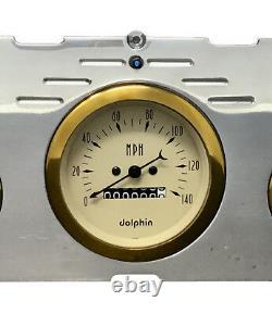 1960 1961 1962 1963 Chevy Truck 5 Gauge Dash Panneau Insert Cluster Set Or