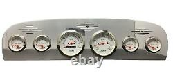 1961 1962 1963 1964 1965 1966 Ford Truck 6 Gauge Dash Cluster White