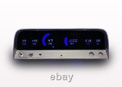 1964-1966 Chevy Truck Digital Dash Panel Cluster Gauges Blue Led Made In USA