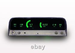 1964-1966 Chevy Truck Digital Dash Panel Cluster Gauges Green Led Made In USA