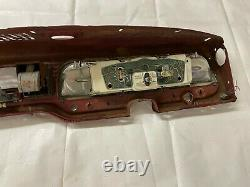 1967-1972 Ford Camion Dash Housing Gauge Cluster Heater Control Gant Box Ashtray