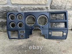 1973-1983 Chevrolet Dash Gauge Lunette Nos Black/chrome Part# 347220