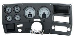 1973-1987 Chevy Truck C10 Alliage D'argent Dakota Digital Hdx Personnalisable Kit De Jauge