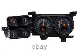 1979-1987 Chevy C10 K10 K5 Truck Retrotech Dakota Digital Rtx Kit De Jauge Sur Mesure