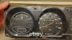 1981-1989 Dodge Ram D150 D250 D350 Ramchargeur Cluster De Vitesse Utilisé