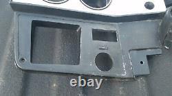 1981 Chevy Truck K5 Blazer Dash Bezel Gauge Brossé Aluminium Gm 14023006