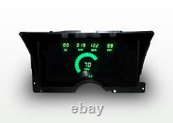 1992-1994 Chevy Truck Digital Dash Panel Cluster Gauges Green Led