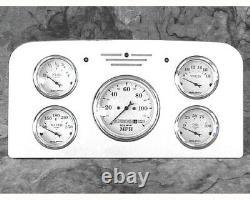38 39 Ford Camion Billet En Aluminium Panneau De Jauge Dash Instrument Cluster 1938-1939