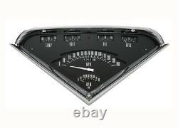 55 56 57 58 59 Chevy Truck Classic Instruments Gauge Panel Cluster Dash Black