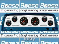 64 65 66 Chevy Truck Billet Aluminium Gauge Panel Dash Insert Instrument Cluster