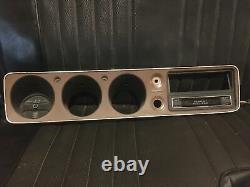 73-79 Datsun 620 Pickup Truck Dash Gauge Cluster Bezel Trim Oem Panel