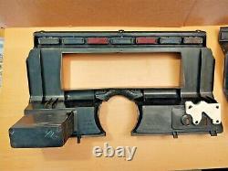 80-86 Jauge Cluster & Radio Bezel Trim Silver/gray Ford F150 F250 F350 Bronco