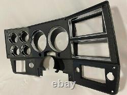 84-87 Nouvelle Chevy Gmc Banlieue Blazer Jimmy Pick-up Dash Cluster Lunette Noir
