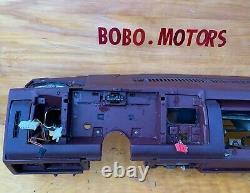 88-94 Chevy Gmc Trucks Dashboard Dash Core Frame Mount Avec Defect Maroon Red