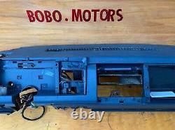 88-94 Chevy Gmc Trucks Tableau De Bord Dash Core Frame Mount Navy Blue