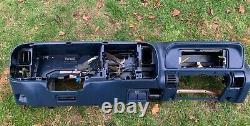 95-99 Chevy Gmc Trucks Dashboard Dash Core Frame Mount Avec Storage Blue