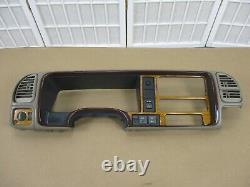 99-00 Escalade 95-99 Chevy Gmc Camion Tan Dash Interior Cluster Radio Lunette