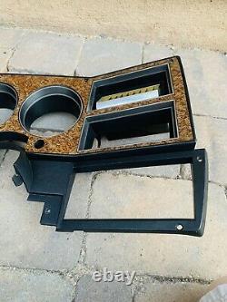 Carré Du Corps Woodgrain Dash Lunette 1989 1991 Chevy Gmc Camion Blazer C/k Jimmy K5