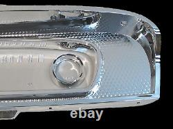 Chrome Dash Instrument Cluster Bezel & Lens Fits 1965-1966 Ford F100 F250 Truck