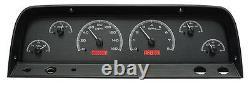 Dakota Digital 1964-66 Chevy Pickup Truck Analog Gauge System Kit Vhx-64c-pu-k-r