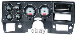Dakota Digital 1973-87 Chevy Gmc Camion Pickup Analog Gauge System Vhx-73c-pu-s-r