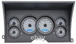 Dakota Digital 1988-94 Système De Jauge Analogique De Camion De Camion De La Camionnette Gmc Chevy Vhx-88c-pu-s-b