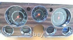 Grappe De Jauge Restaurée 67 68 69 70 71 72 Chevy Gmc Truck 5000 RPM Tach Dash