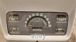 Ihc International Camion Pickup Dash Speedometer Gauge Cluster 1959 1960