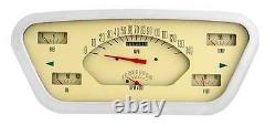 Instruments Classiques 53 54 55 Ford F-100 Truck Gauge Panel Cluster Dash (tan)