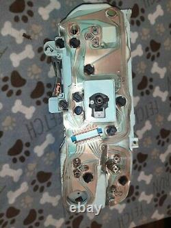 Oem 73-89 Chevy/gmc Camion Suburban Blazer Jimmy Gauge Cluster & Clock