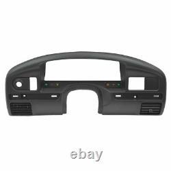 Oem Instrument Cluster Dash Bezel Panel Noir Pour Ford Pickup Truck Diesel Nouveau