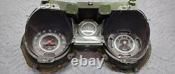 Rare Vintage 1969 Chevelle Factory Ss-396 Tach Dash Gauge Cluster 5500 RPM Copo